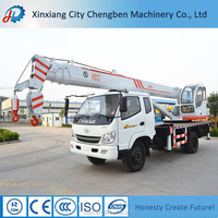 5 Ton Crane Truck for Sale with Swivel Crane Hook