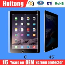 Best manufacturer OEM high clear tempered glass screen protector for iPad
