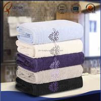 High quality bright colored checkered white funny sexy terry kids bath foot towel packaging suit
