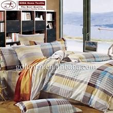 china wholesale comforter sets 100% cotton printed duvet cover set home goods bedding set