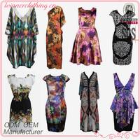 Hot selling fashionable women's plus size clothing