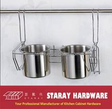 HCJ232 Kitchen stainless steel spoon knife holder rack