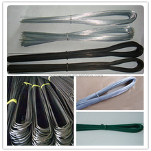 Chine fabricant U type electro fil de fer galvanisé / immersion à chaud de zinc placage fer fil / fil de fer noir