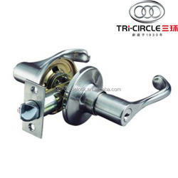 High Quality Tubular leverset door lock TC830ET-PW