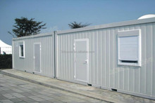 economical stainless steel shipping two bedroom design container 20ft room