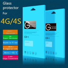 "Tempered Glass Screen Protector For iPhone 4 (0.3mm 3.5"" 2.5C 9H HD Clear)"