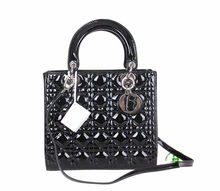 Hot sell good quality black leather hand bags fashion lady's branded handbag dropship paypal