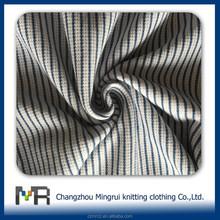 100% cotton stripe eyelet fabric