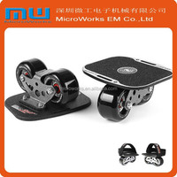 2015 factory excess luxury wheel drift skate, professional mini skateboard, off road skates with bearing drift tool