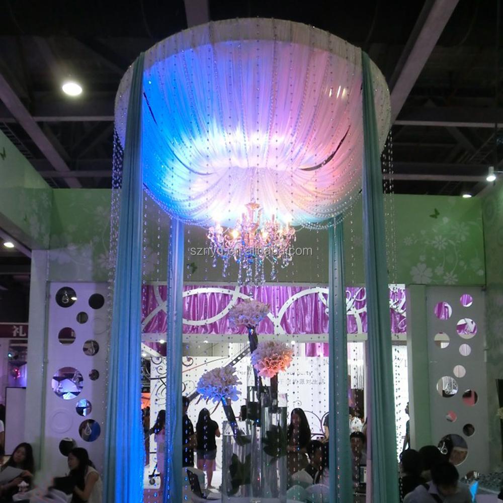 Latest Creative Colorful Fibreglass Sculpture Flower Wedding