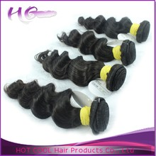 No chemical processed 100% human hair stylish natural wavy hair moscow
