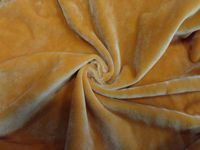 100% polyester children' wear brshed knitted soft velvet fabric