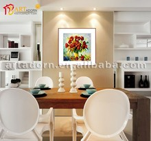 wall painting colorful flower photos art painting