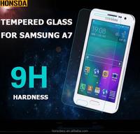 Super anti-scratch 9H tempered glass screen film for SAMSUNG A7/ NOTE3/NOTE 4.