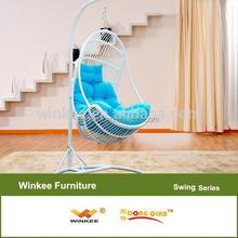 wicker hanging swing chair garden furniture germany outdoor garden swing for sale