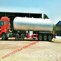 Propane Transportation tanker Trailer 59cbm LPG Bobtail Truck certified ASME CCC CCS C2,C3 pressure vessel manufacturer