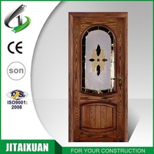 wonderful carving interior office door with glass window for room