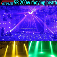 HOT selling with good effect Sharpy 200W Beam Moving Head Light / Platinum 5r Beam