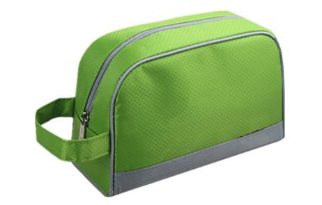 Gros custom Mini polyester cosmétique sac pour hommes