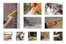 floor/glass/doors/construction/building acidic Silicone Sealant