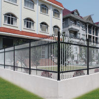 2015 new design high quality powder coated aluminum yard fence,fence for garden cheap
