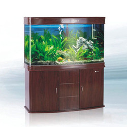 aquarium view glass fish tank with filter and lamp