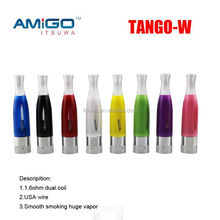 china wholesale e cigarette tango-w evod clearomizer 1.6ml BUD tank bottom vaporizer pen