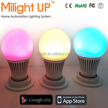 Best Price Smart Magic Colorful Light for iOS / Android Phone Dimmable 5W e27 wifi led bulb