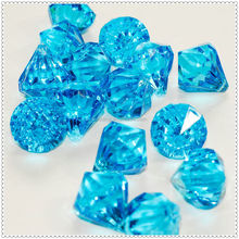 Latest Trends Sapphire Decotive Acrylic Stone For Party &Wedding