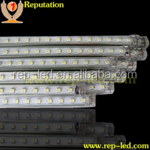 Slim LED Linear Cabinet Light SMD2835 LED Rigid Strip with Aluminum Profile,high voltage strip light
