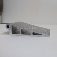 high property aluminum alloy triangle extrusion profile manufactured according to your mold