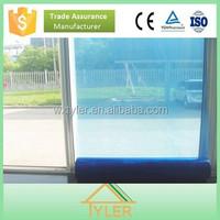 Hot Blue Window Glass PE Protective Film Asia