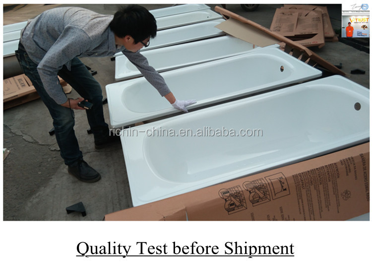 Vasca Da Bagno Acciaio Porcellanato : Vasca da bagno standard dimensioni di alta qualità in metallo