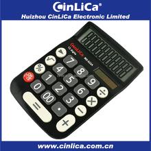 12 digit big solar electronic calculator desktop calculator