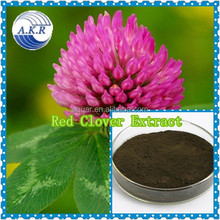GMP&ISO 40-80% isoflavones 100% natural high quality red clover extract