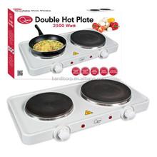 Electric Double Hot plate /Premium Electric Twin/Double Hob 2500 Watt