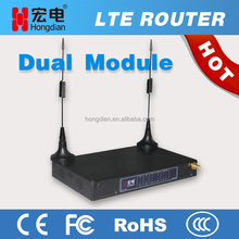 Industrial LTE wireless 4 LAN port router for ATM