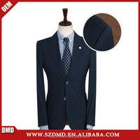 2015 latest design coat pant men suit black blazer