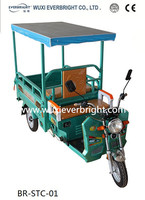 electric and solar rickshaw tricycles
