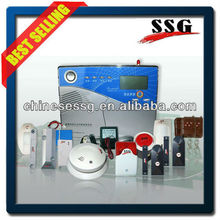 Attractive blue console blends perfectly with any decor home alarm system
