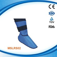 x-ray radiation protective shoes cover / lead foot protection - MSLRS02R