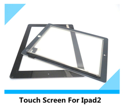 TOP Quality for Apple iPad 2 Touch Digitizer Glass Screen with the cable
