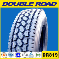 2015 best chinese brand DOUBLE ROAD off road tire 22.5 truck tire