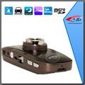 ciclo de grabación de alta definición 720p del coche dvr grabador de cámara negro de la caja para el coche