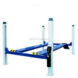 launch tlt440w wheel alignment 4 post car lift and car lifts for home garages or used car lifts for sale with CE