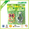 Hanging Christma tree shape car scent air freshener as Christmas gifts