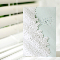 2015 fashional organize wedding elegant cut invitations