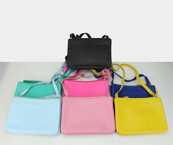 celine leather bags - Aliexpress.com : Buy classic trio bag women\u0026#39;s handbag messenger ...