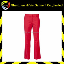 hot selling custom red pant suit for women
