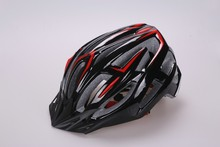 2015 sport helmet adult with PC cover , professional bicycle helmet with cool color , helmet with durable visor